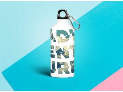 Бутылка металлическая 0,5 мл «Adventure»