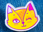 Значок из акрила с яркой печатью «Лисичка» от MARKOV design в анимированном стиле