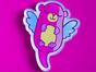 Значок из акрила с яркой печатью «Мишка» от MARKOV design в анимированном стиле