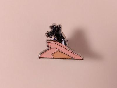 Значок металлический с эмалью «Медный всадник»