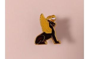 Значок металлический с эмалью «Грифон»