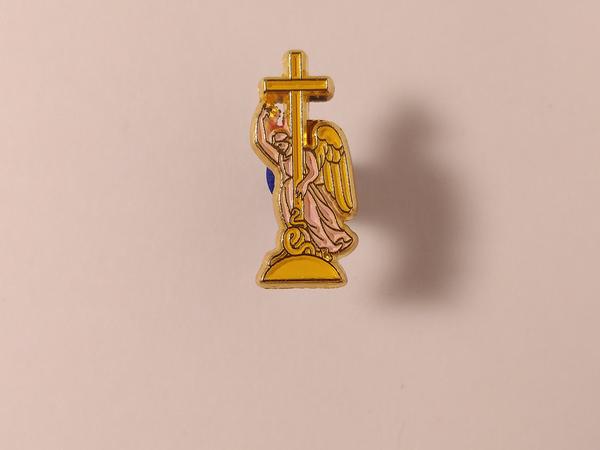 Значок металлический с эмалью «Ангел»