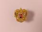 Металлический значок с изображением «Герб России»