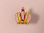 Металлический значок с изображением «Корона»