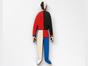 Брошь из дерева ручная покраска «Спортсмен в красном» от Билла Трейлора hand made