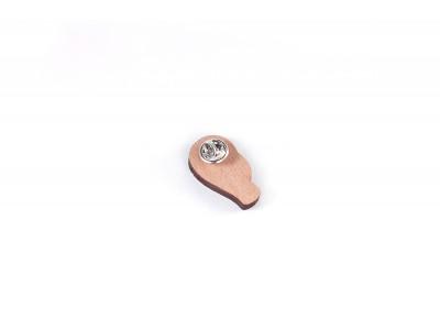 Деревянный пин «Фламинго», Waf Waf