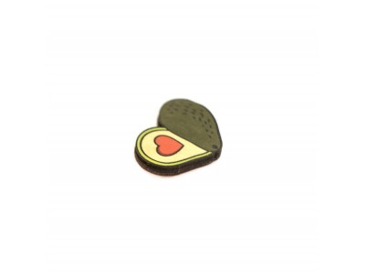 Значок Waf Waf «Авокадо сердечко» дерево