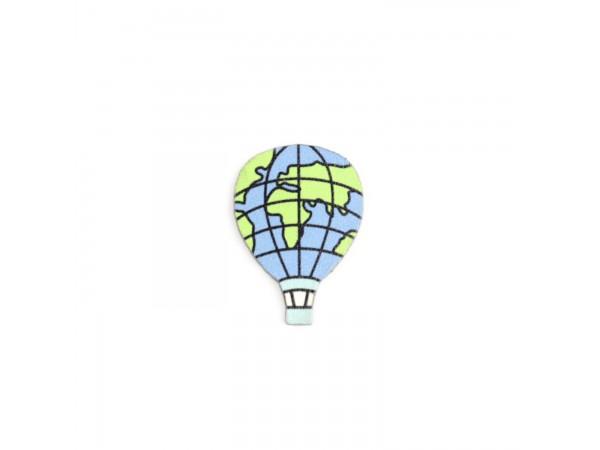 Деревянный пин «Воздушный шар», Waf Waf
