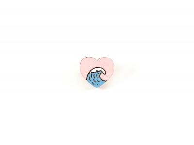 Значок Waf Waf «Море в моем сердце» дерево