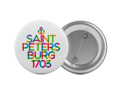 Значок «Saint Petersburg 1703»