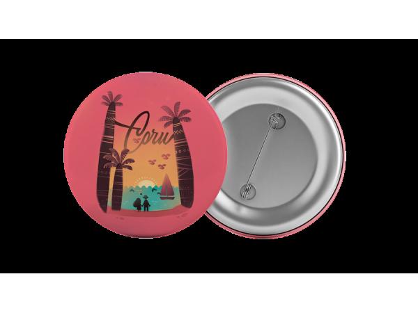 Значок «Сочи, закат над морем»