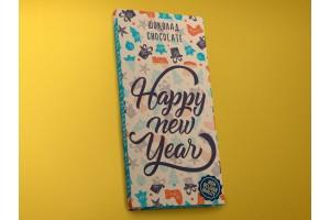 Шоколад молочный «Happy New Year» pattern 45гр