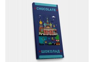 Шоколадная плитка «Спас на Крови», 100гр, молочный