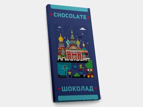 Шоколадная плитка «Спас на Крови»