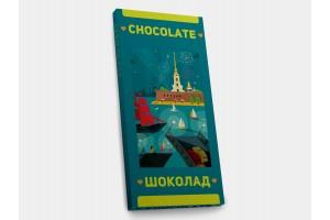 Шоколадная плитка «Петропавловская крепость», 100гр, молочный