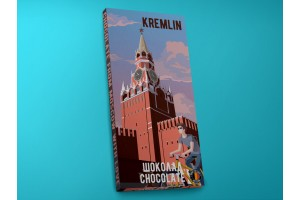 Шоколад молочный «Кремль. Поп-арт», 100гр