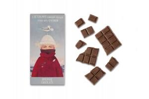 Шоколадная плитка «Слишком холодно», 100гр, молочный