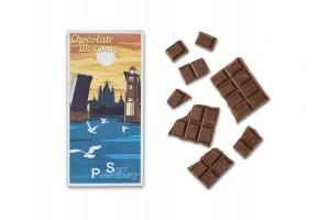Шоколадная плитка «Смольный мост», 100гр, молочный
