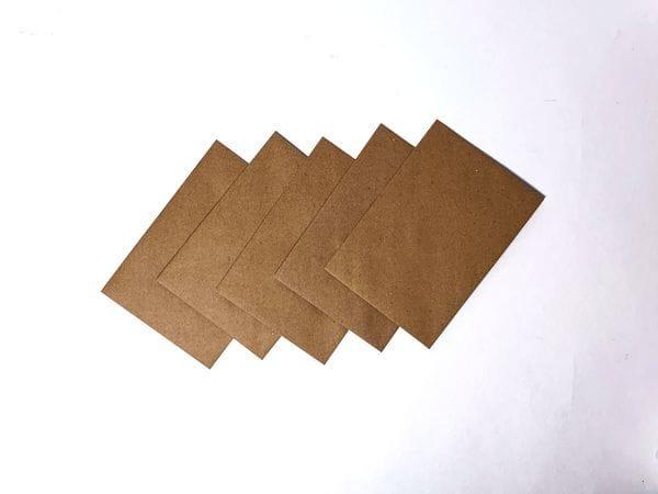 Набор крафт-конвертов А6. 5шт