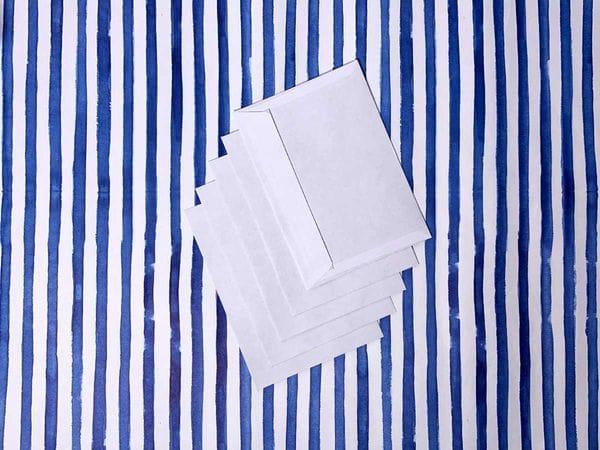 Набор белых конвертов А6. 5шт