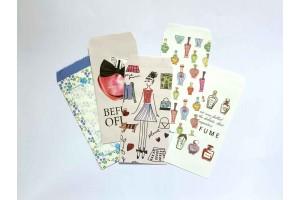 Набор цветных конвертов «Леди»