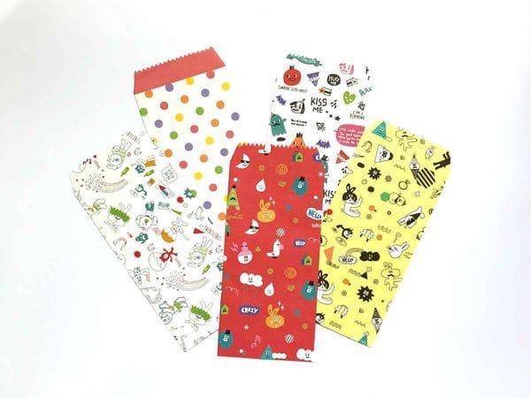 Набор цветных конвертов «Стикеры»