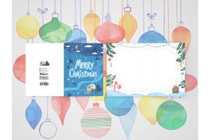 Открытка поздравительная - Новый Год «Merry christmas»
