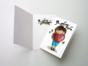 Открытка «Люблю для мальчика» на дизайнерской бумаге soft touch