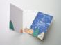 Открытка поздравительная - новогодняя «Из Петербурга» на дизайнерской бумаге soft touch