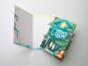 Открытка поздравительная - новогодняя «С новым годом» на дизайнерской бумаге soft touch