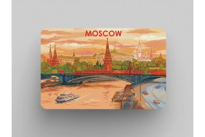 Магнит на холодильник «Вид на Кремль и мост»