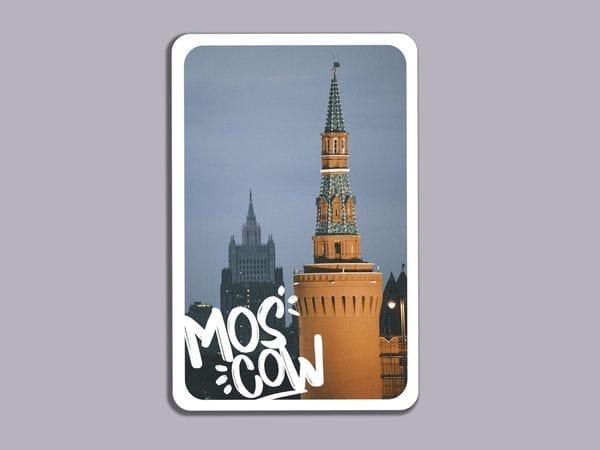Магнит на холодильник «Беклемишевская башня Кремля»