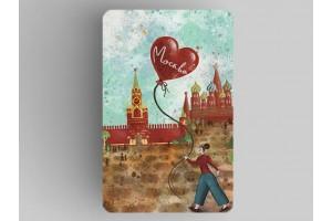 Магнит на холодильник «Москва» - на Красной площади