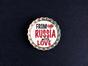 Магнит на холодильник Пробка с магнитом «From Russia with love» сердце