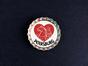 Магнит на холодильник Пробка с магнитом «Petersburg» Медный всадник в сердце
