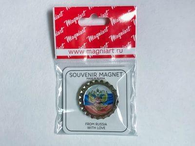 Пробка с магнитом «Герб и Флаг РФ»