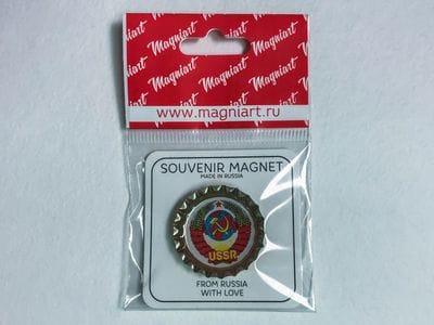 Пробка с магнитом «Герб СССР»