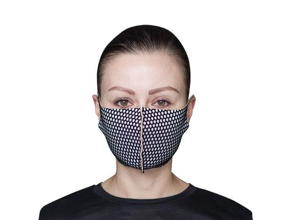 Взрослая защитная маска цвет «Сетка»