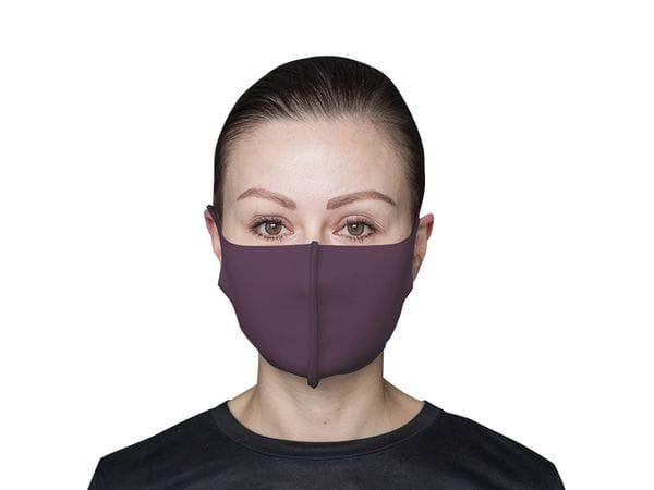 Взрослая защитная маска цвет «Фиолетовый»