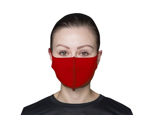 Взрослая защитная маска цвет «Красный»