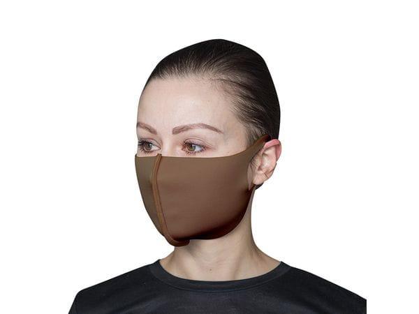 Взрослая защитная маска цвет «Мокко»