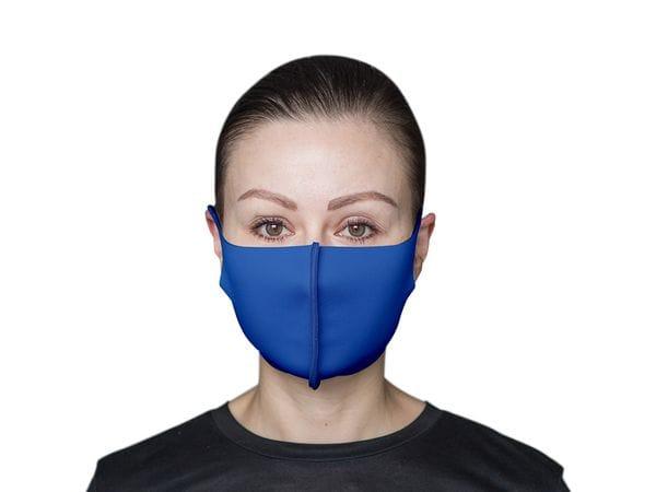 Взрослая защитная маска цвет «Синий»