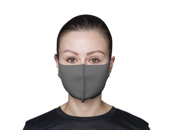 Взрослая защитная маска цвет «Асфальт»