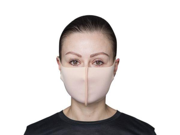 Взрослая защитная маска цвет «Телесный»