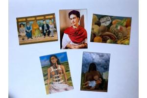 Набор открыток «Фрида Кало». Репродукции 5шт