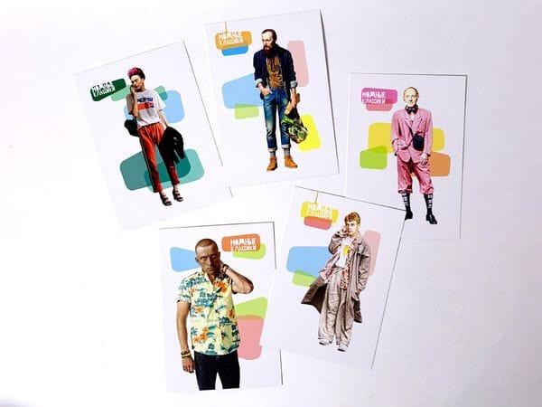 Набор открыток «Модные классики» 5шт
