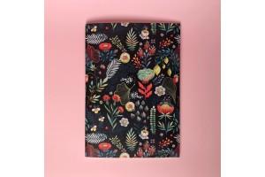 Тетрадь нелинованная «Floral»