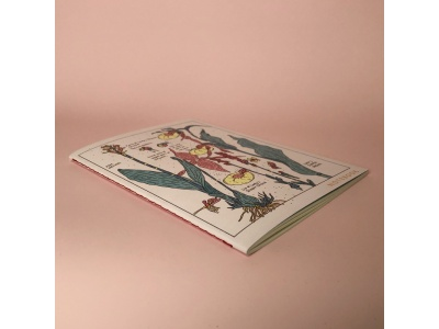 Тетрадь А5 на сшивке « Orchid» 24 страницы
