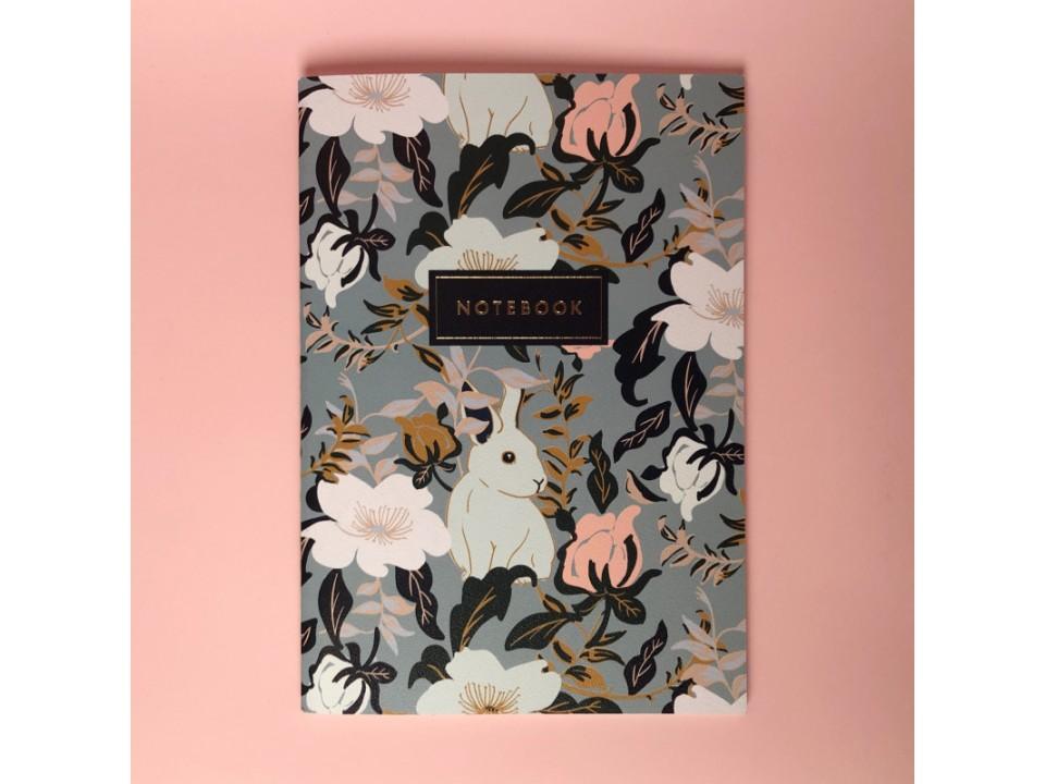 Тетрадь А5 на сшивке « Rabbit» 24 страницы
