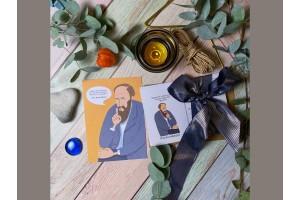 Открытка почтовая «Достоевский»